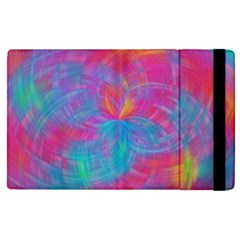 Abstract Fantastic Fractal Gradient Apple Ipad Pro 12 9   Flip Case