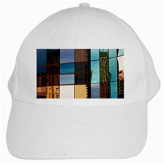 Glass Facade Colorful Architecture White Cap