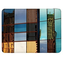 Glass Facade Colorful Architecture Samsung Galaxy Tab 7  P1000 Flip Case by BangZart