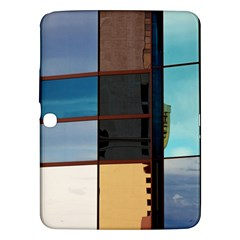 Glass Facade Colorful Architecture Samsung Galaxy Tab 3 (10 1 ) P5200 Hardshell Case