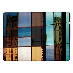 Glass Facade Colorful Architecture Samsung Galaxy Tab Pro 12 2  Flip Case