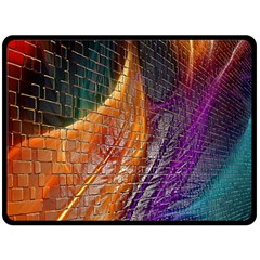 Graphics Imagination The Background Double Sided Fleece Blanket (large)  by BangZart