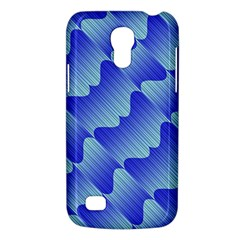 Gradient Blue Pinstripes Lines Galaxy S4 Mini