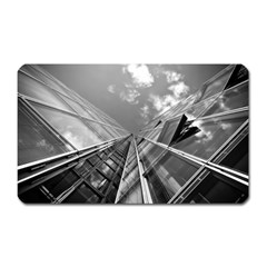 Architecture Skyscraper Magnet (rectangular)