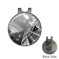 Architecture Skyscraper Hat Clips With Golf Markers