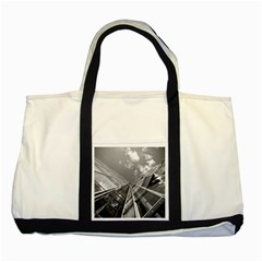 Architecture Skyscraper Two Tone Tote Bag