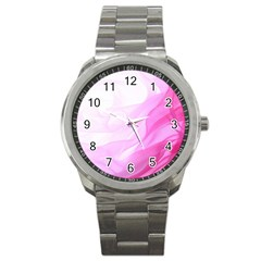 Material Ink Artistic Conception Sport Metal Watch