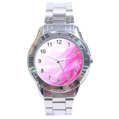 Material Ink Artistic Conception Stainless Steel Analogue Watch