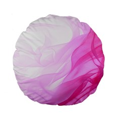 Material Ink Artistic Conception Standard 15  Premium Flano Round Cushions