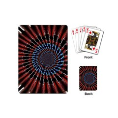 The Fourth Dimension Fractal Noise Playing Cards (mini)