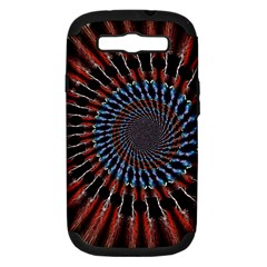 The Fourth Dimension Fractal Noise Samsung Galaxy S Iii Hardshell Case (pc+silicone)