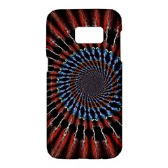 The Fourth Dimension Fractal Noise Samsung Galaxy S7 Hardshell Case