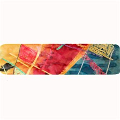 Painting Watercolor Wax Stains Red Large Bar Mats