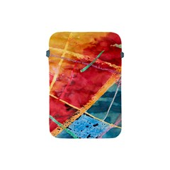 Painting Watercolor Wax Stains Red Apple Ipad Mini Protective Soft Cases