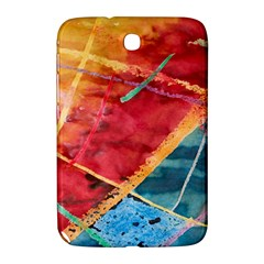 Painting Watercolor Wax Stains Red Samsung Galaxy Note 8 0 N5100 Hardshell Case