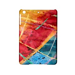 Painting Watercolor Wax Stains Red Ipad Mini 2 Hardshell Cases by BangZart
