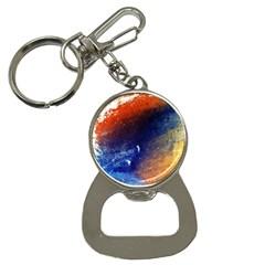Colorful Pattern Color Course Button Necklaces