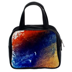 Colorful Pattern Color Course Classic Handbags (2 Sides)