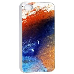 Colorful Pattern Color Course Apple Iphone 4/4s Seamless Case (white)