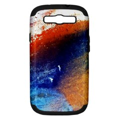 Colorful Pattern Color Course Samsung Galaxy S Iii Hardshell Case (pc+silicone)