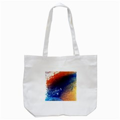 Colorful Pattern Color Course Tote Bag (white)