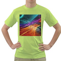 Graphics Imagination The Background Green T Shirt