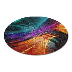 Graphics Imagination The Background Oval Magnet