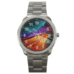 Graphics Imagination The Background Sport Metal Watch