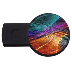 Graphics Imagination The Background Usb Flash Drive Round (4 Gb) by BangZart