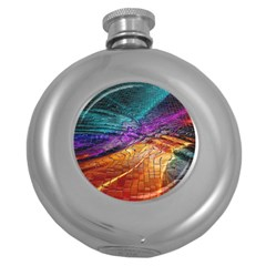 Graphics Imagination The Background Round Hip Flask (5 Oz)