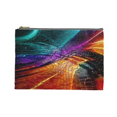 Graphics Imagination The Background Cosmetic Bag (large)  by BangZart