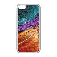 Graphics Imagination The Background Apple Iphone 5c Seamless Case (white)