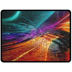 Graphics Imagination The Background Double Sided Fleece Blanket (large)