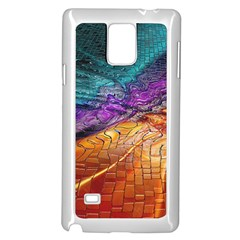 Graphics Imagination The Background Samsung Galaxy Note 4 Case (white) by BangZart
