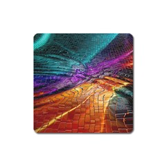 Graphics Imagination The Background Square Magnet