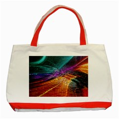 Graphics Imagination The Background Classic Tote Bag (red)