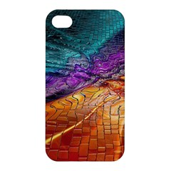Graphics Imagination The Background Apple Iphone 4/4s Hardshell Case by BangZart