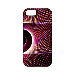 Grid Bent Vibration Ease Bend Apple Iphone 5 Classic Hardshell Case (pc+silicone)