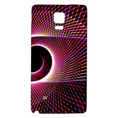 Grid Bent Vibration Ease Bend Galaxy Note 4 Back Case