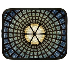 Stained Glass Colorful Glass Netbook Case (large) by BangZart