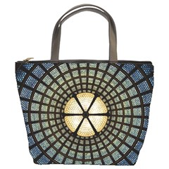 Stained Glass Colorful Glass Bucket Bags by BangZart