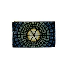 Stained Glass Colorful Glass Cosmetic Bag (small)  by BangZart