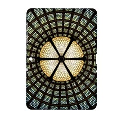 Stained Glass Colorful Glass Samsung Galaxy Tab 2 (10 1 ) P5100 Hardshell Case