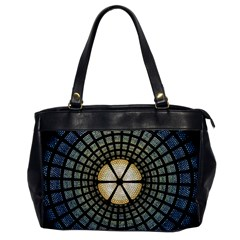 Stained Glass Colorful Glass Office Handbags