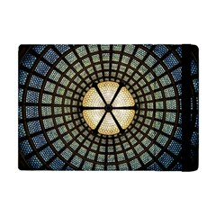 Stained Glass Colorful Glass Apple Ipad Mini Flip Case