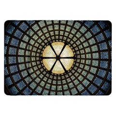 Stained Glass Colorful Glass Samsung Galaxy Tab 8 9  P7300 Flip Case