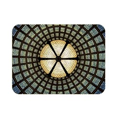 Stained Glass Colorful Glass Double Sided Flano Blanket (mini)