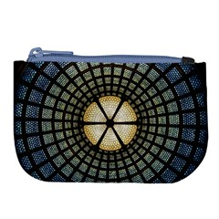 Stained Glass Colorful Glass Large Coin Purse