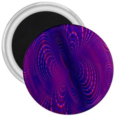 Abstract Fantastic Fractal Gradient 3  Magnets