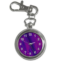 Abstract Fantastic Fractal Gradient Key Chain Watches by BangZart